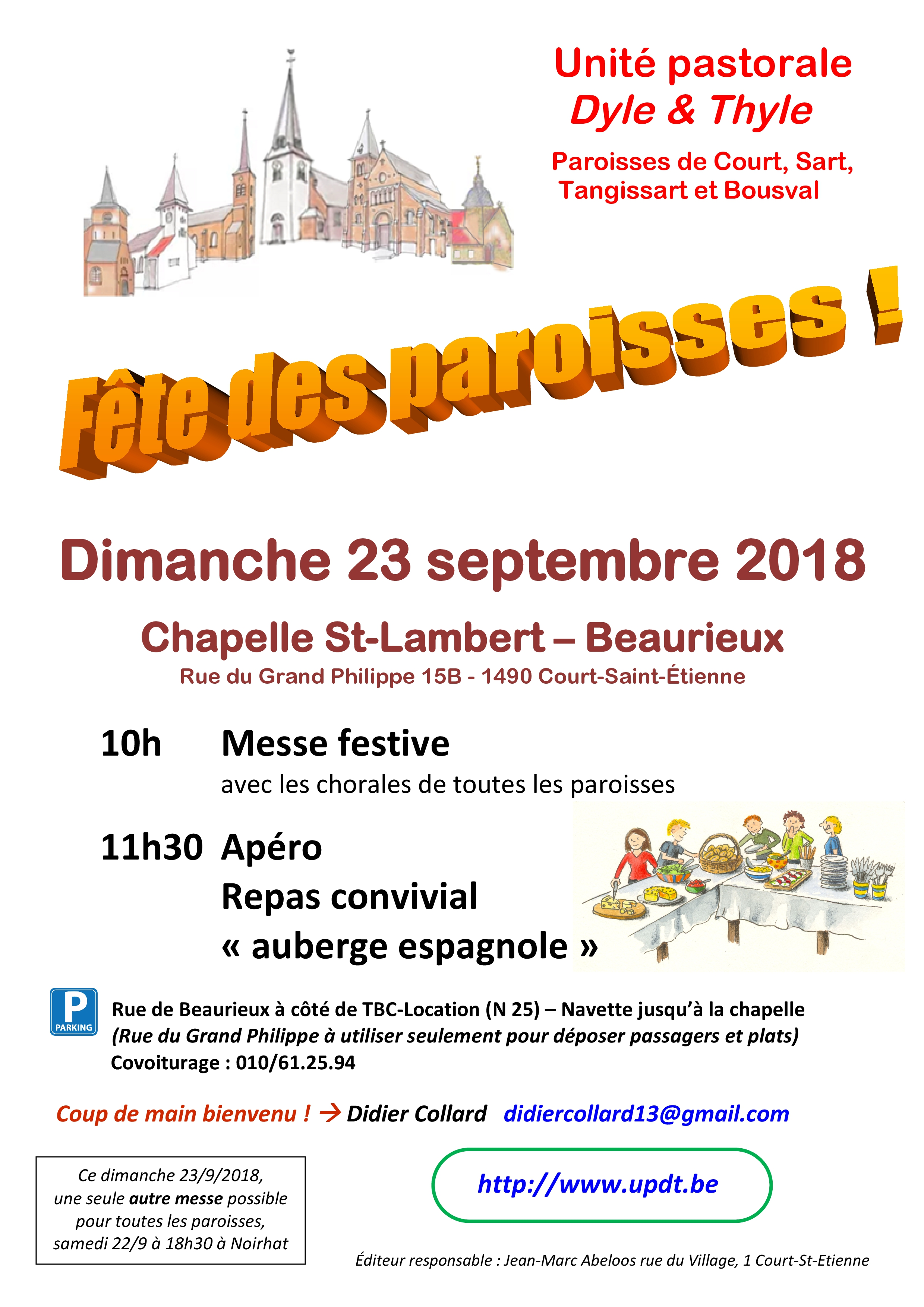 2018 fete des paroisses Beaurieux A4 parking B